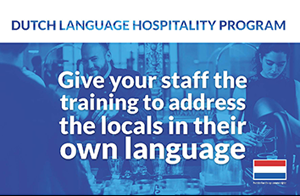Dutch Language Coaching Hospitality